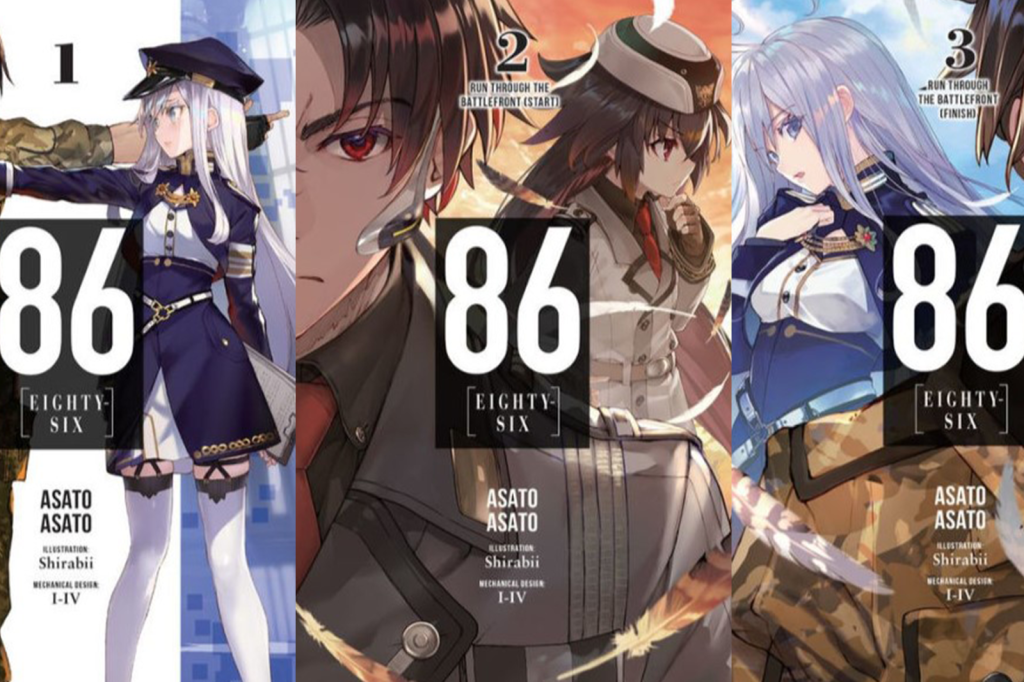 Covers of volume 1-3